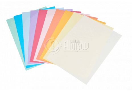 Barevný kopírovací papír duha 10 barev A4/80g/500 listů