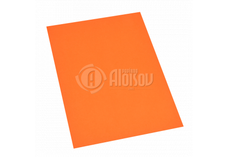 Barevný papír oranžový A2/80g/250 listů