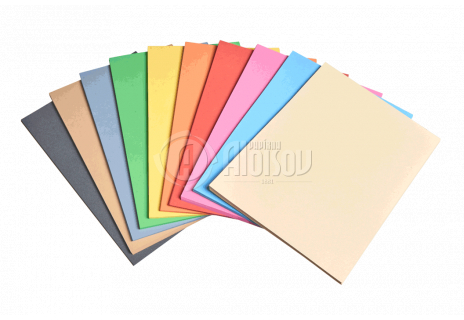 Barevný recyklovaný papír růžový A3/180g/100 listů