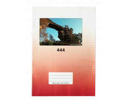 Školní sešit 444