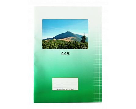 Školní sešit 445