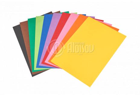 Barevný papír duha A4/80g/500 listů