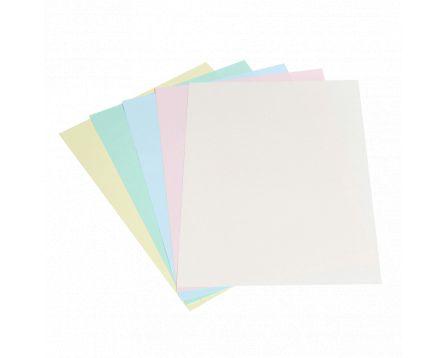 Barevný kopírovací papír duha 5 barev pastel A4/80g/100 listů
