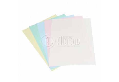 Barevný kopírovací papír duha 5 barev pastel A4/80g/500 listů
