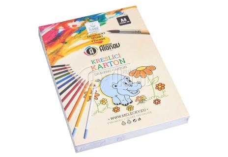 Kreslící karton bílý A4/180g/200 listů