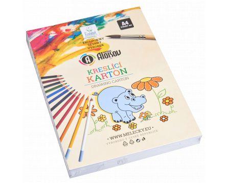 Kreslící karton bílý A4/200g/200 listů