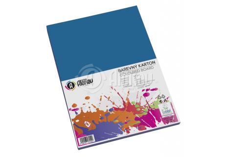 Barevný papír modrý A3/180g/100 listů