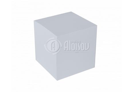 Bílý bloček lepený 8,5x8,5x8,5cm