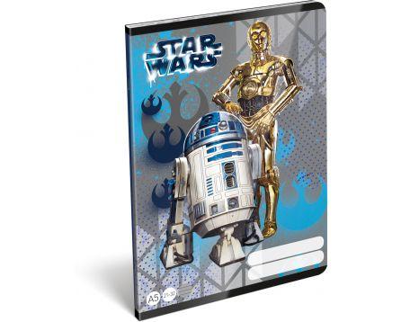 Disney školní sešit A5 Star Wars Heroes Droids