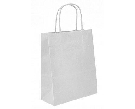 Papírová taška bílá 450x455x150 mm